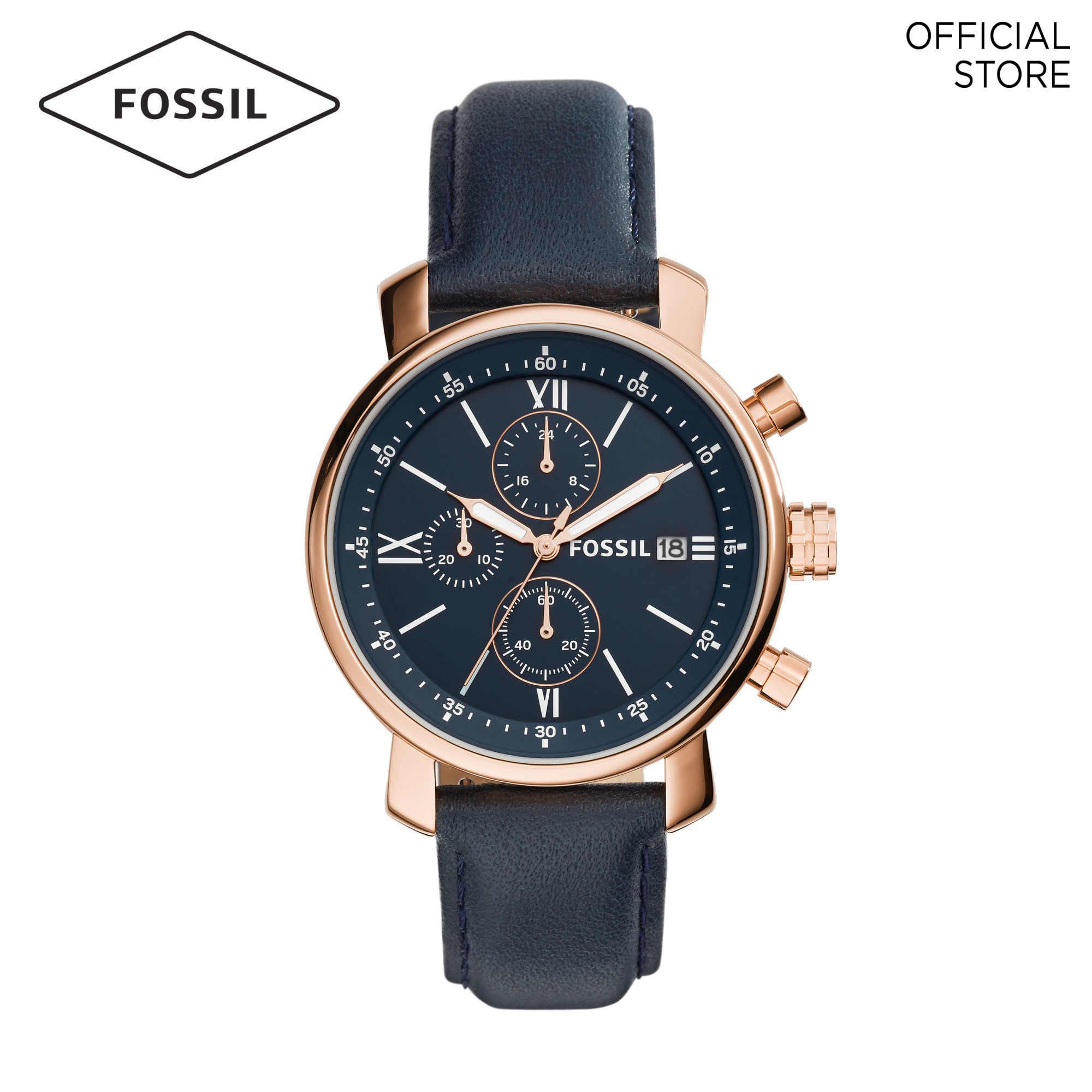 Fossil Rhett Blue Watch BQ1704 Malaysia