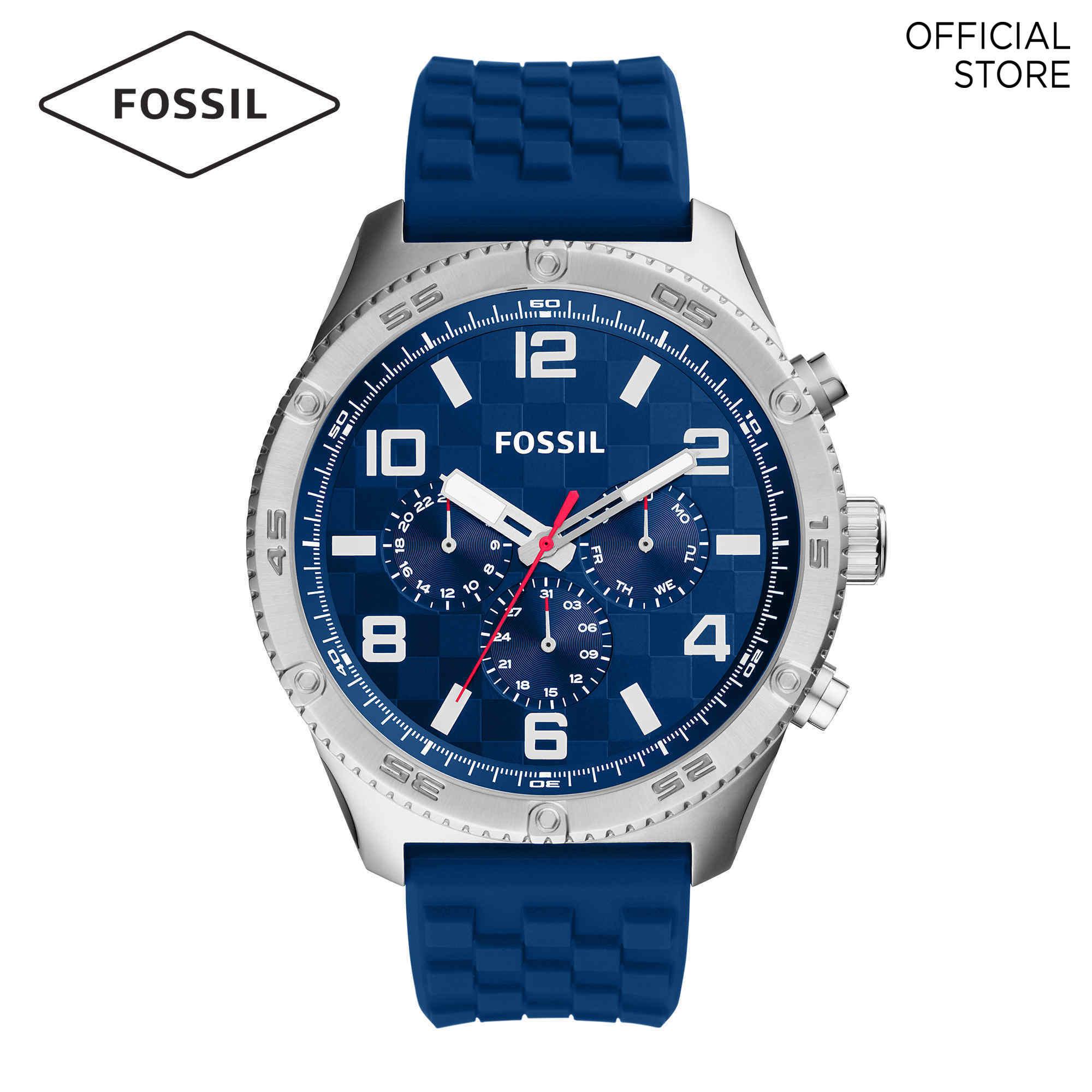Fossil Brox Blue Watch BQ2558 Malaysia